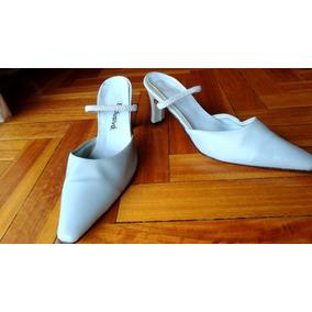 Zapatos Stilettos Color Celeste. Talle 38! Taco 6 Cm.