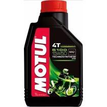 4 Motul 5100 15w50 Oleo Motor Moto 4t Semi-sintét