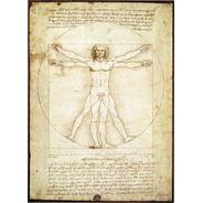 Hombre Vitruvio Da Vinci Mini Rompecabezas 1000 Piezas Tomax