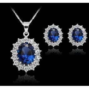 Conjunto Azul Brillante