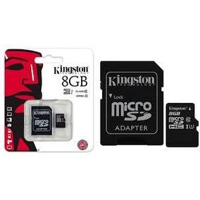 Memoria Micro Sd 8gb + Mp3 A Elegir