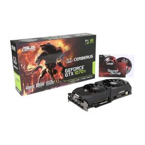 Asus Geforce Gtx 1070 Ti Cerberus 8gb 8g 256- Bit Gddr5 Grá