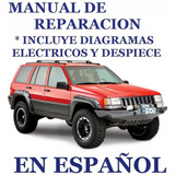 Manual Mecanica Reparación Jeep Grand Cherokee 93 98 Español