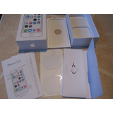 Caja De Iphone 5s Color Plateado 64gb