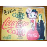 Cartel Metálico Coca Cola (reproducción) - 18 X 23 Cm/ Nuevo