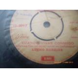 Vinilo Ep De Lucho Barrios -- Cuando Vivas Conmigo (a797