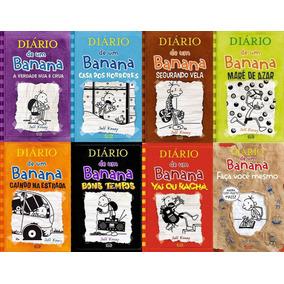 Coleção Diário De Um Banana- Do Vol 5,6,7,8,9,11+ Fvm.