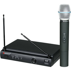 Microfone Karsect Sem Fio Sistema Mão Kru-301 Garantia Nfe