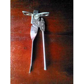 Antiguo Destapador-abrelatas Con Mariposa