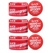 Cera Pasta Dax Wave & Groom 3 Latas