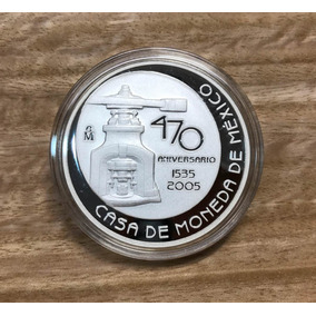 Una Onza. Acabado Espejo. 470 Aniversario Casa De Moneda