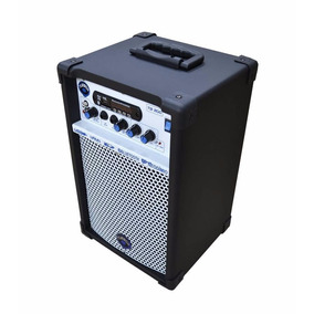 Caixa Multiuso Violão Voz Turbox Tb-200 C/ Fm 40w Bk