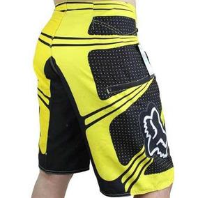 Pantaloneta Bermuda Para Hombres Fox Tallas 30 A 40