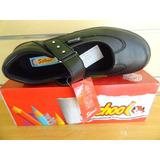 Zapato Colegial Negro Sifrinas Tallas 37 Al 40 Modelo 214