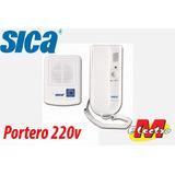 Kit Portero Electrico Timbre 220v Sica Electro Medina