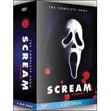 Coleccion Dvd Scream Vol 1 2 3 4 Original Nueva En Box Set