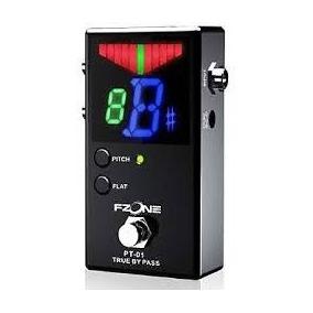Pedal Afinador Cromatico True By Pass F Zone Pt 01