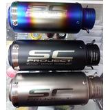 Exosto Slipon Moto Sc Project Puntera