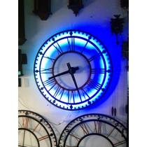 Reloj De Hierro Con Luz 1 Metro Estilo Vintage