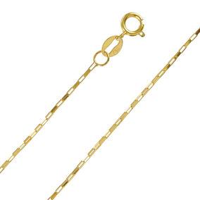 Corrente Cordão 60cm Masculino Ouro 18k Frete Grátis