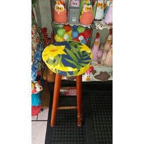 Kit Com 4 Assentos Para Cadeira Redonda Banquetas Banco Red