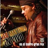 Leo Mattioli - En Vivo En El Teatro Gran Rex ( Cd + Dvd )