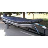 Lona Capa Para Barco E Lancha De Aluminio 5/6 Mts