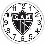 Relógio De Parede Decorativo Clube Atlético Mineiro Barato