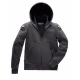 Campera Casual Blauer Easy Man 1.1 Gris Membrana Impermeable