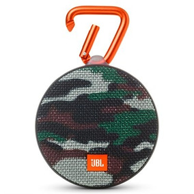 Caixa De Som Bluetooth À Prova D´agua Jbl Clip 2 Squad
