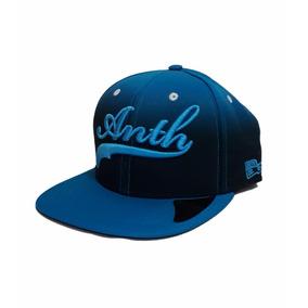 Boné Aba Reta Anth Co Azul Snapback Com Logo Bordado 9bb68a24f3f