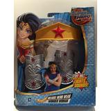 Mujer Maravilla , Brazaletes Y Corora , Super Hero Dc Girls