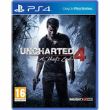 Uncharted 4 Ps4 Playstation 4 Físico