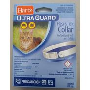 Lote De 8 Collares Antipulgas Y Garrapatas Para Gato Hartz