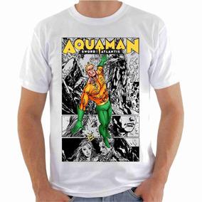 696f90084 Camiseta Em Poliéster Liga Da Justiça - Camisetas Manga Curta para ...