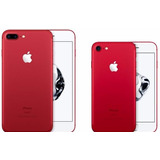 Apple Iphone 7 Plus 128gb Rojo Special Edition Red Libre