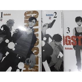 Mangá Gangsta Volumes 1 Ao 3