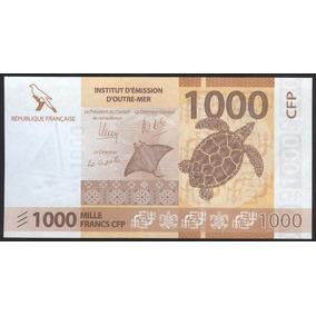 Territorios Franceses Del Pacifico 1000 Francos (2014)