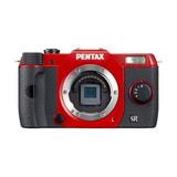 Cámara Digital Pentax Q10 12.4 Mp - Rojo (sólo Cuerpo)
