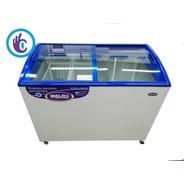 Freezer Exhibidor Inelro Fih 350 Pi, Ahora 12 Helados