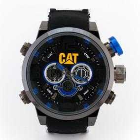 Reloj Cat Válvula Azul