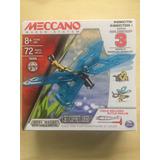 Meccano Metalico 72 Pcs, 3 Trasformaciones Insectos