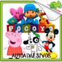 Vinilos Osandme Decora Infantil Discovery Disney Pepa Mickey