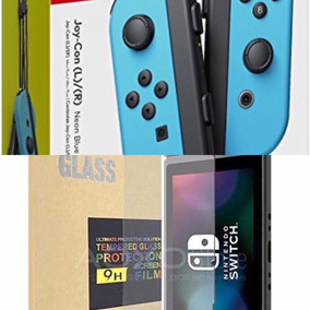 Joycons X2 Más Gorilla Glas X2 + Envío.