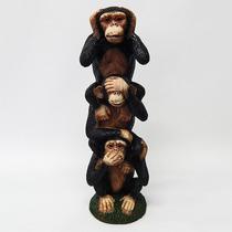 Monos Sabios Tótem - Indonesia, Oriental, Hindú