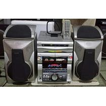 System Sony Grx8 2000w Impecável Funcionando Tudo