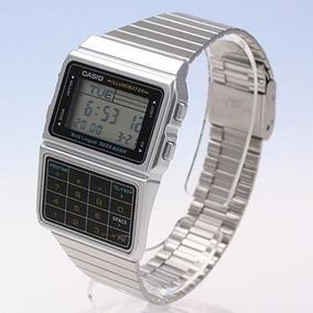 Relógio Calculadora Casio Databank Dbc611 Prata