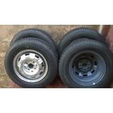 Rodas Aro 13 Originais Vw Com Pneus Novos Dunlop 175/70/13