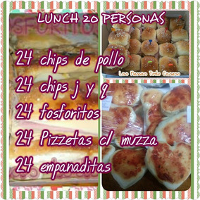 Catering- Lunch Para 20 Personas
