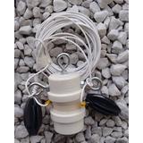 Antena Hf Dipolo P/ 80m Com Isolador Central Reforçado Inox